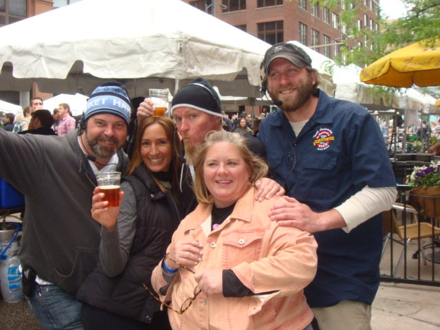 Beer fest Maria Pete Marian Gary