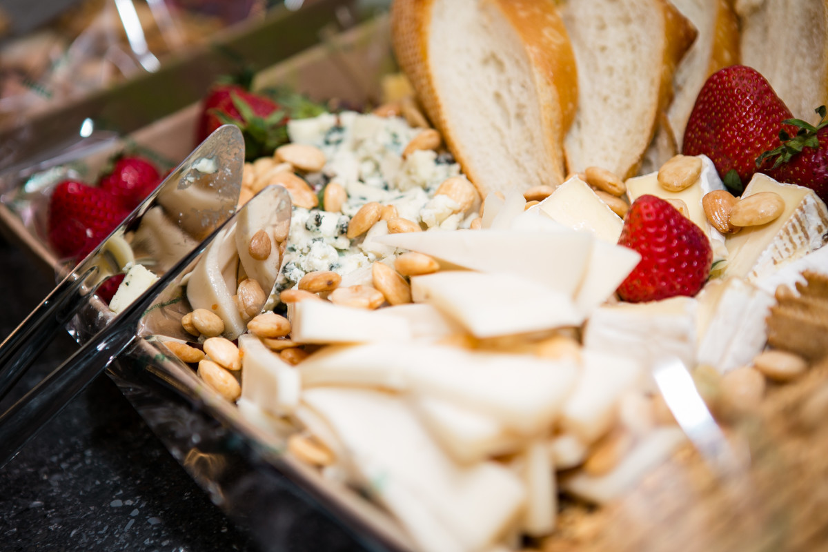 Whole Foods Market West Loop donated an amazing spread of cheeses, fruits, nuts and bread for the event.