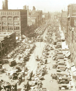 Randolph-Fulton Market in its heyday